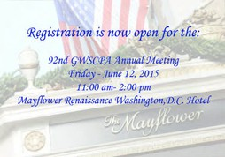 2015 GWSCPA Annual Meeting